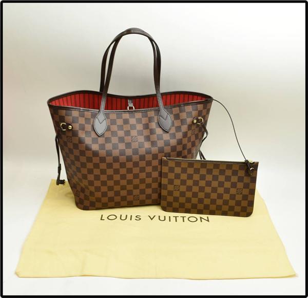 ルイヴィトン ネヴァーフルMM N41358 の新品同様のバッグを高価買取させて頂きました。