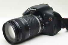 CANON キヤノン EOS kiss X5 デジタル一眼レフカメラ レンズ 55-250mm F4-5.6 中古買取致しました。