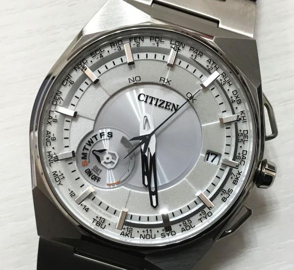 シチズン サテライトウェーブ エコドライブ CC2001-57A メンズ 腕時計 GPS 衛星電波 クォーツ 極美品 メーカー保証期間有り 買取致しました。