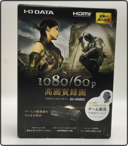 未開封!I・O DATA HDMIゲームキャプチャー GV-HDREC 買取致しました。