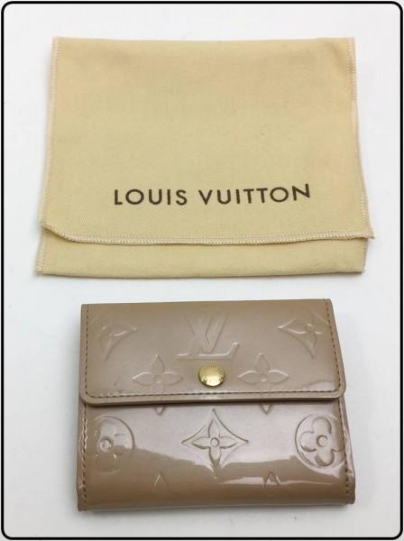 中古美品!LOUIS VUITTON ヴェルニ ラドロー M91355 ベージュ買取致しました。