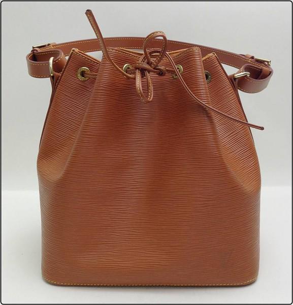LOUIS VUITTON ルイヴィトン エピ プチノエ M44108 ジパングゴールド ショルダーバッグ ワンショルダー 巾着型 ※中古 美品 保存袋付き 買取致しました。