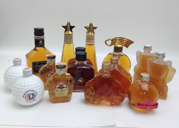 ニッカ VSOP ねがい星 ハート 等 ウイスキー ブランデー 16本まとめて 100ml ミニボトル アルコール 酒 ※未開栓買取致しました。