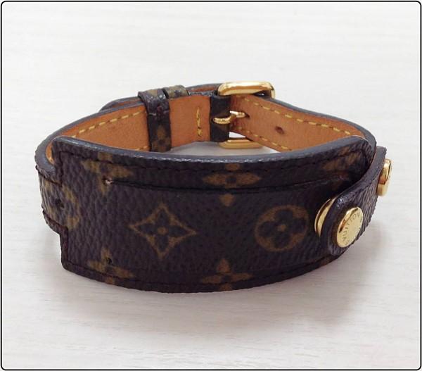 LOUIS VUITTON モノグラム ブラスレ ポルト アドレス M92577 ブレスレット アクセサリー ファッション ※中古 リボン無し買取致しました。