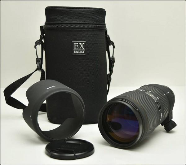 SIGMA シグマ EX 70-200mm F2.8 APO DG HSM レンズ レンズフード付 ケース付 ニコン用 ※中古 動作未確認 現状渡し買取致しました。