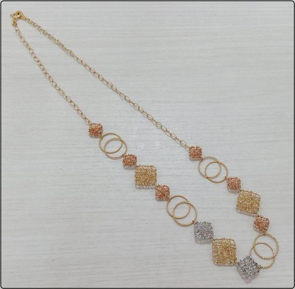 K18 ネックレス 約 50cm 約 11.2g 750 ゴールド 金 アクセサリー レディース ファッション ※中古 美品買取致しました。