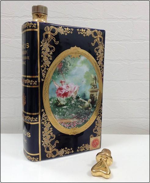 CAMUS カミュ NAPOLEON ナポレオン COGNAC コニャック VEILLE RESERVE 紳士と淑女 BOOK型 リモージュ ブランデー アルコール ※未開栓買取致しました。