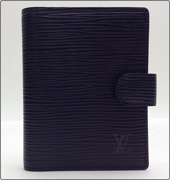 LOUIS VUITTON ルイヴィトン エピ ミニアジェンダ R20072 ノワール 黒 ブラック スケジュール 手帳カバー ※中古 美品買取致しました。