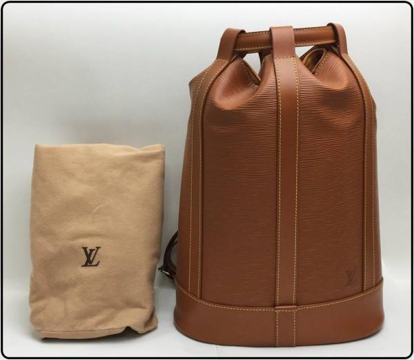 中古美品!LOUIS VUITTON ルイヴィトン エピ ランドネPM ブラウン系 M52356買取致しました。
