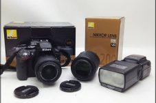 Nikon  D5300 18-55 VR Ⅱ Kit F3.5-5.6 F4-5.6 カメラ レンズ NEEWER 750Ⅱニコン用 スピードライト 買取致しました。