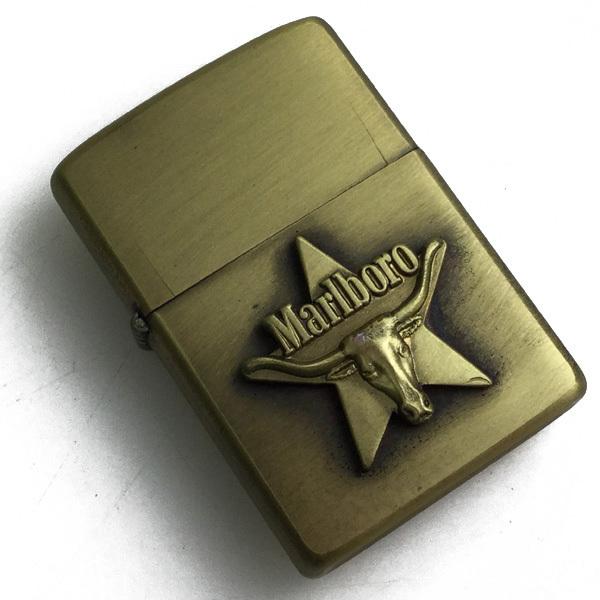 未使用保管品!(デッドストック)激レア!80年製 Marlboro マルボロ ZIPPO ロングホーンスター 買取致しました。