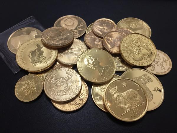 金貨いろいろ買取致しました。