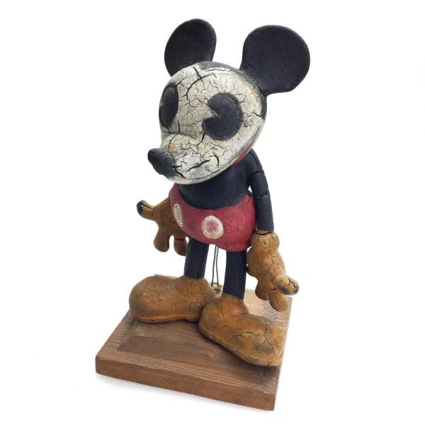 激レア!! ラバードール ミッキーマウス 1930年 スタンド付き 希少品買取致しました。