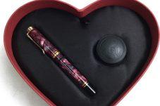 ペリカン 万年筆 M320 ルビーレッド ※ハート型箱有り買取致しました。