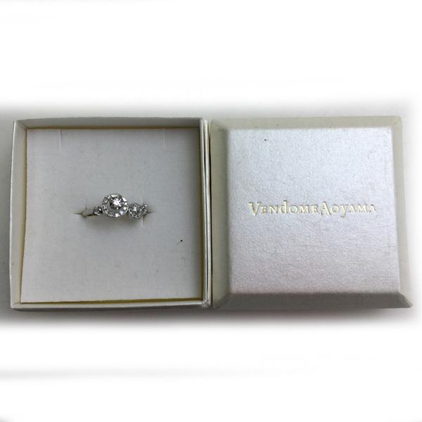 ヴァンドーム青山 リング 指輪 Pt950 プラチナ950 重量3.8g 11号 D0.16ct 買取致しました。