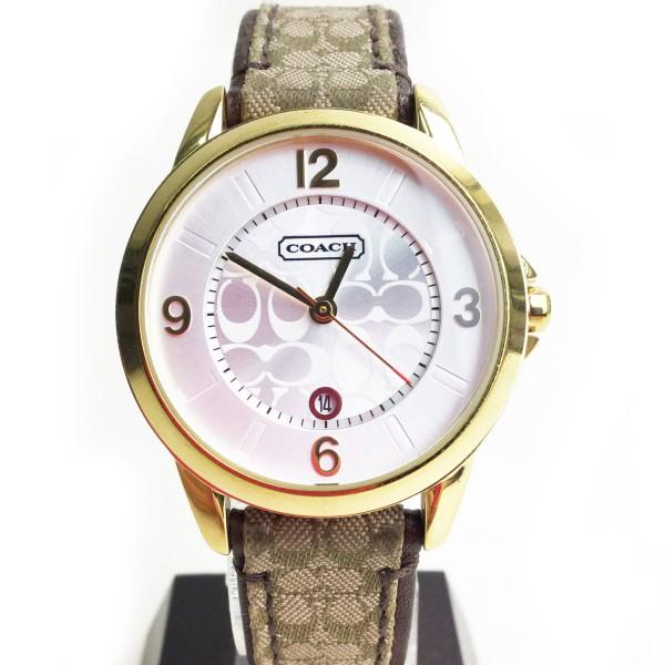 COACH コーチ 腕時計 クラシック シグネチャー アナログ クオーツ 買取いたしました