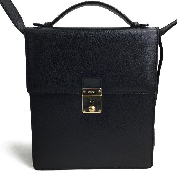 グッチ GUCCI ショルダーバッグ ハンドバッグ 2way ブラック×ゴールド買取致しました。ショルダーバッグ ハンドバッグ 2way ブラック×ゴールド買取致しました。