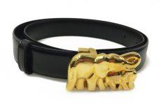 Cartier カルティエ ベルト 象モチーフバックル ゾウ アニマル 買取致しました。