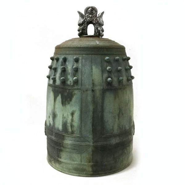 鐘 釣鐘 19.29kg 約50×31cm アンティーク 骨董 時代物 買取致しました。