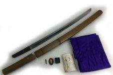 脇差 わきざし 備州長船祐定 長さ52.4cm 反り1.0cm 中古 ※銃砲刀剣類登録証・保存袋買取致しました。
