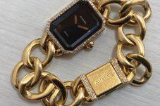 シャネル CHANELプルミエール 18金×ダイヤベゼルウォッチ時計 買取致しました。