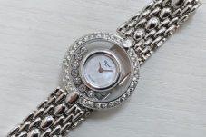 Chopardショパール ハッピーダイヤモンド 腕時計買取致しました。