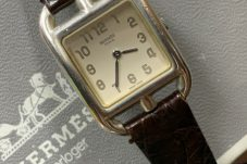 HERMES エルメス 腕時計 ケープコッド クォーツ シルバー925 買取致しました。