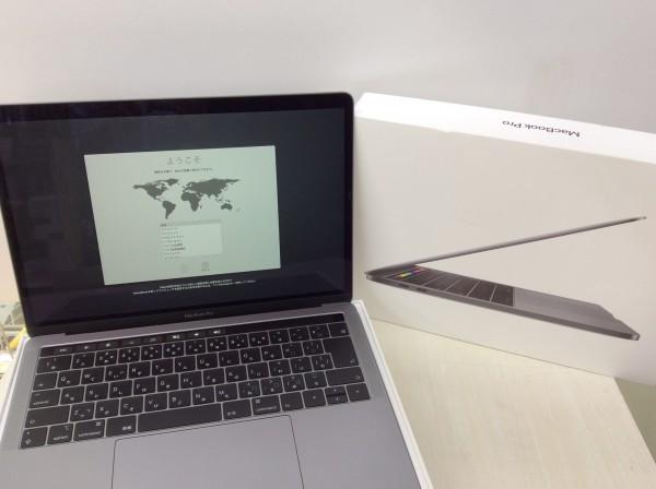 恵那市のお客様よりApple アップル ノートパソコン MacBook Pro 13インチ MUHN2J/A A2159 スペースグレイ買取致しました。