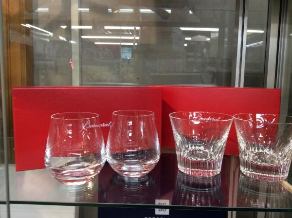 土岐市のお客様より Baccaratバカラ ペアグラス  フィオラ シャトーバカラ 買取致しました。