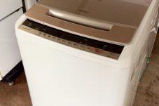 多治見市のお客様より  HITACHI 2018年製 8Kg ビートウォッシュ 洗濯機 買取致しました。