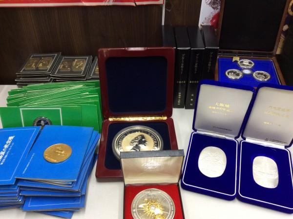 瑞浪市のお客様より メダル コイン 貨幣など買取致しました。