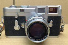多治見市のお客様より、LEICA ライカ フィルムカメラ M3 本体+レンズ Ernst Leitz GmbH Wetzlar Summicron f=5cm 1:2買取致しました。