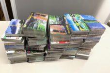 テレホンカード2000枚ほど買取致しました。