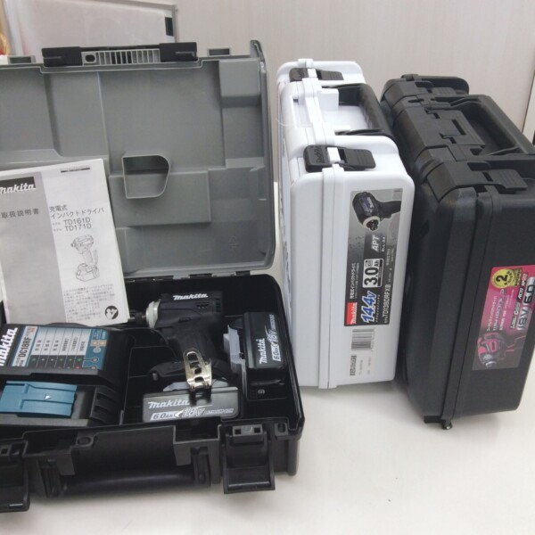 中津川市のお客様よりマキタ インパクトドライバ TD171DRGX 買取致しました。