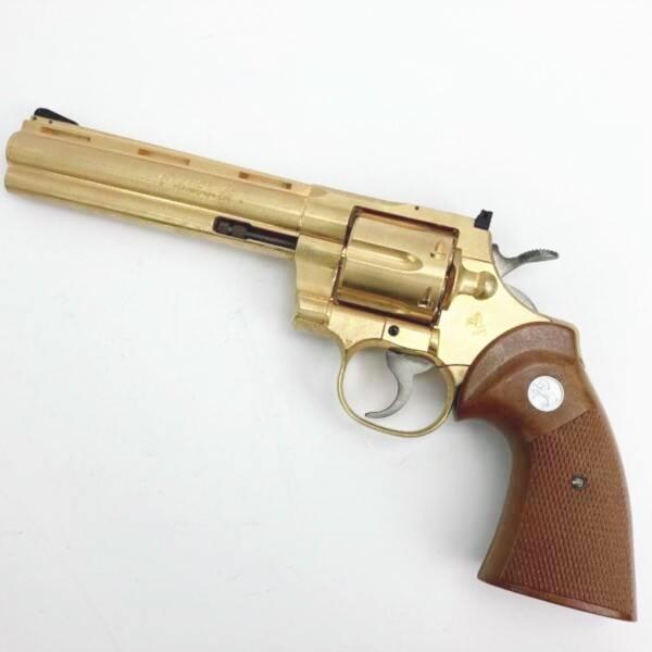 コクサイ ニュー コルト パイソン 6インチ .357マグナム 金属製モデルガン買取致しました。