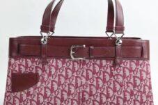 Christian Dior トロッター ハンドバッグ パンツデザイン 買取致しました。