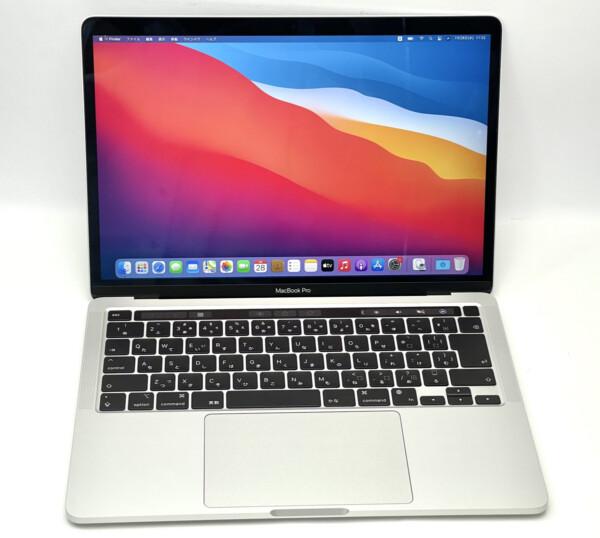 MacBook Pro M1 2020 13インチ 8GB SSD:256GB Apple M1チップ MYDA2J/A Big Sur11.4買取致しました。