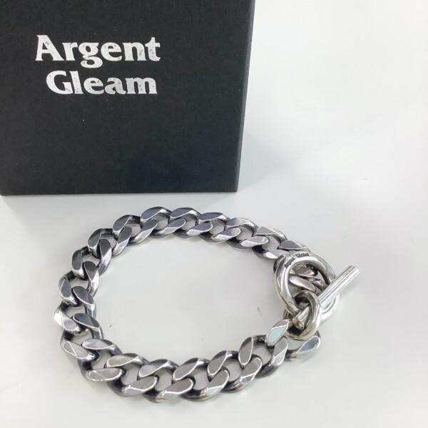 Argent Gleam ブレスレット 喜平 シルバー925 約20cm 50g 買取致しました。